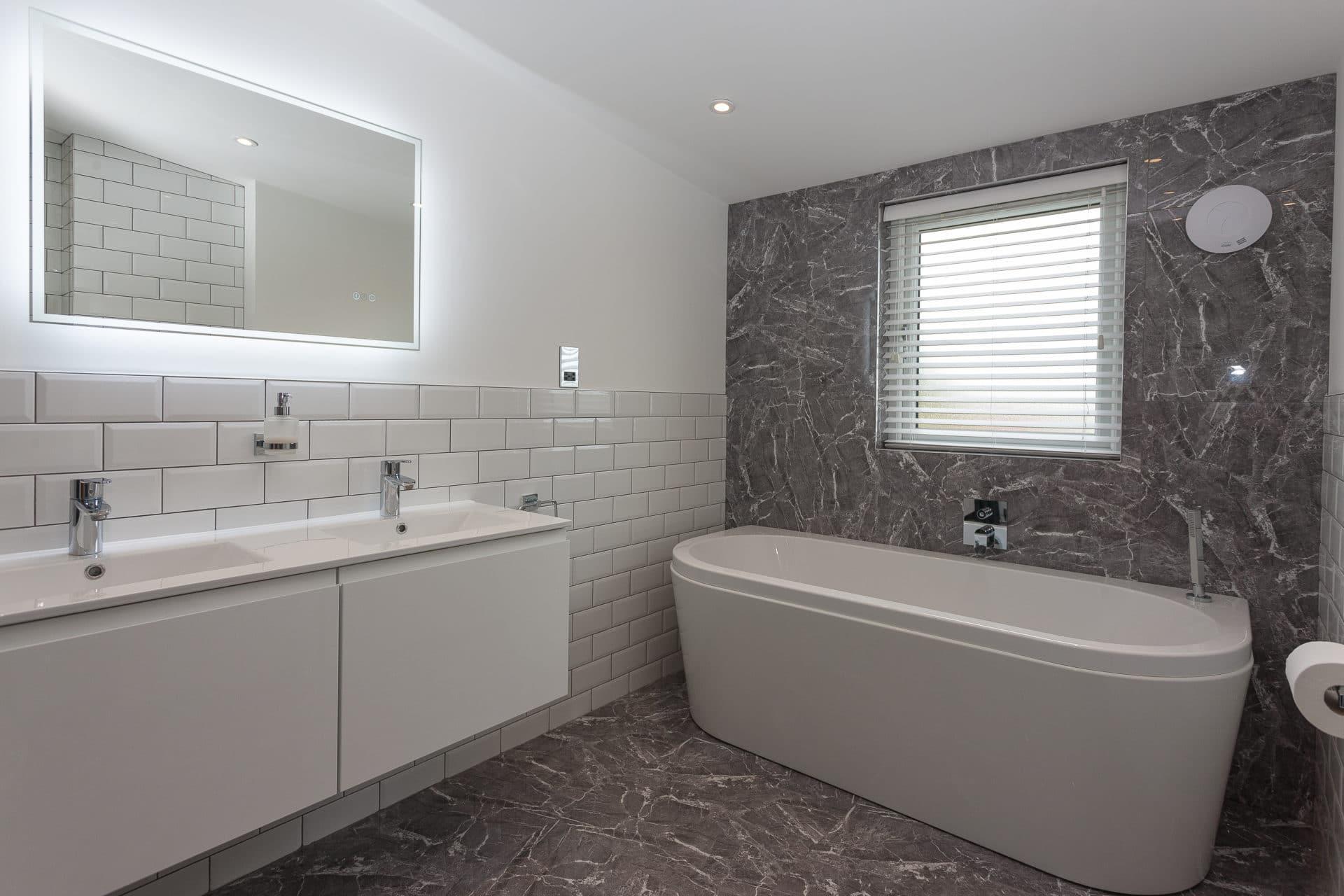 Bathrooms-Durham-White